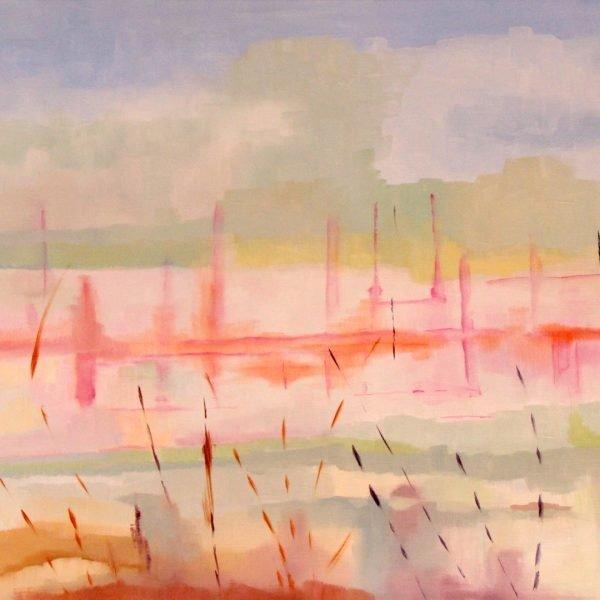 Reflections sur le Marais, 65x92
