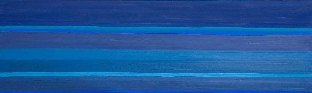 Promenade des Anglais Nice Oil on Linen 60x120